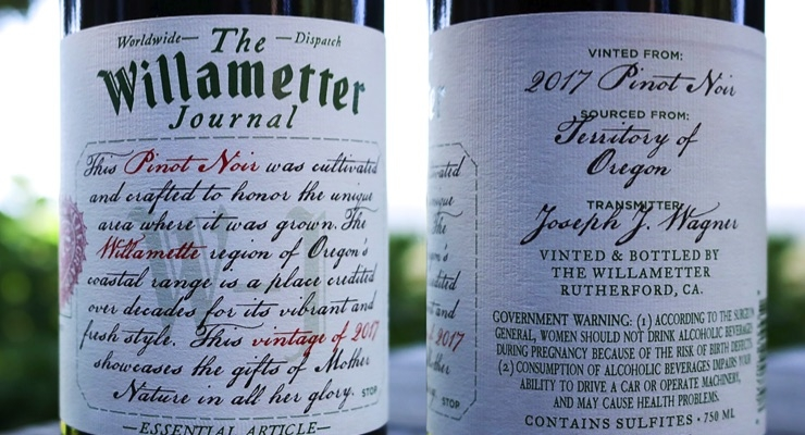 Oregon scores wine label win
