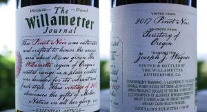 俄勒冈州获得葡萄酒标签冠军