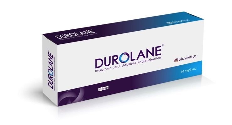 DUROLANE is based on a natural, safe and proven technology process called NASHA. Image courtesy of Bioventus.