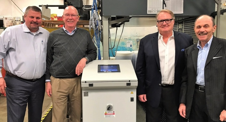 Pamarco, GAMA donate ink viscosity control system to Clemson