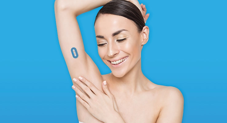 My Skin Track pH by La Roche-Posay is a wearable sensor and companion app measures personal skin pH levels created in partnership with Epicore Biosystems, a leader in microfluidic platforms and soft wearable sensors.