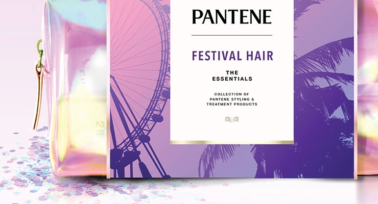 Rock on! Pantene teamed up with Coachella for a festival hair kit.