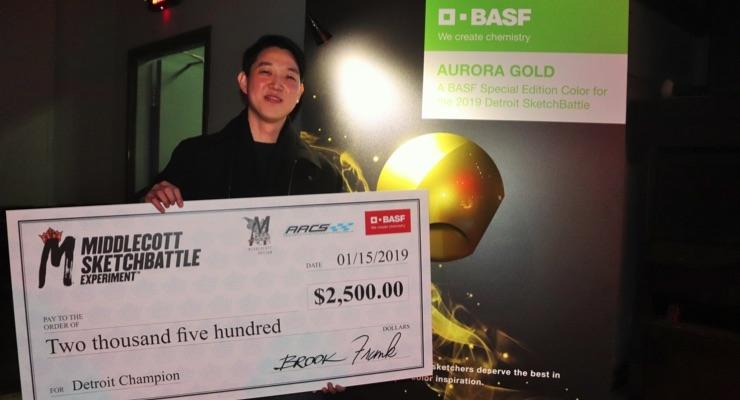 BASF Presents 2019 Detroit Middlecott Sketchbattle Winner