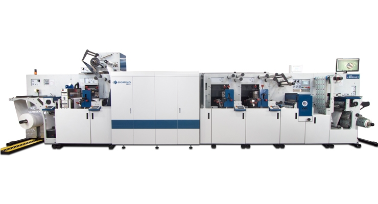 CEI has partnered with Domino for the BossJet hybrid press.