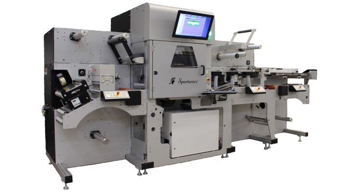 Spartanics' CS-2000 Laser Modular Converting Machine