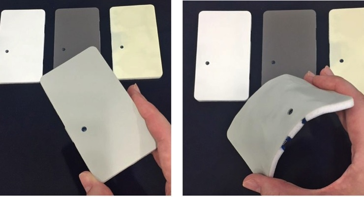 DIC's new sensor boasts superb flexibility and comes in a variety of colors. (Source: DIC)