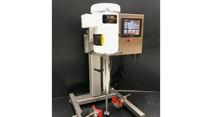 EMImills Lab & Pilot Mixer -  Disperser with Data Collection