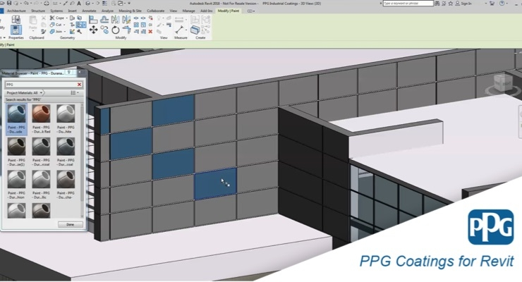 PPG, BIMSMITH Offer Building Information Modeling Innovation to Architects
