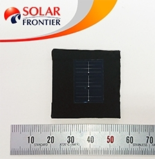 Solar Frontier Achieves World Record Thin-Film Solar Cell Efficiency of 23.35%