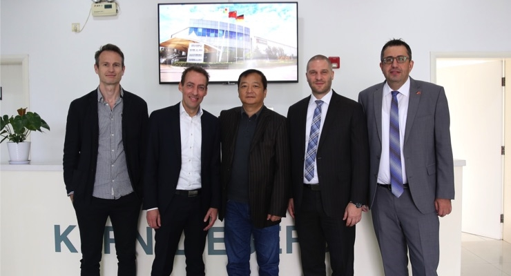 Kern-Liebers, Expanite Expand Cooperation in China
