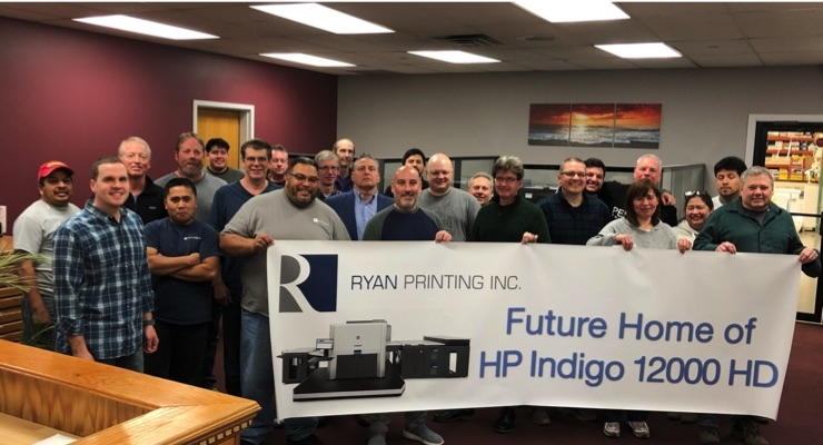 HP Reaches 1000th HP Indigo Series 4 Press Sold