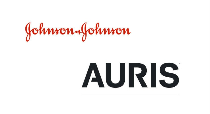 J&J to Buy Robotic Surgery Firm Auris Health for $3.4B