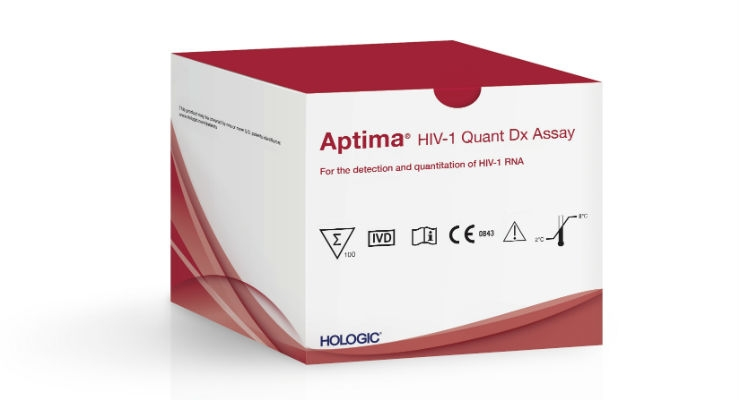 Aptima HIV-1 Quant Dx Assay. Image courtesy of Business Wire.