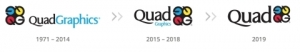 Quad/Graphics Evolves Its Brand to Reflect Company's Transformation