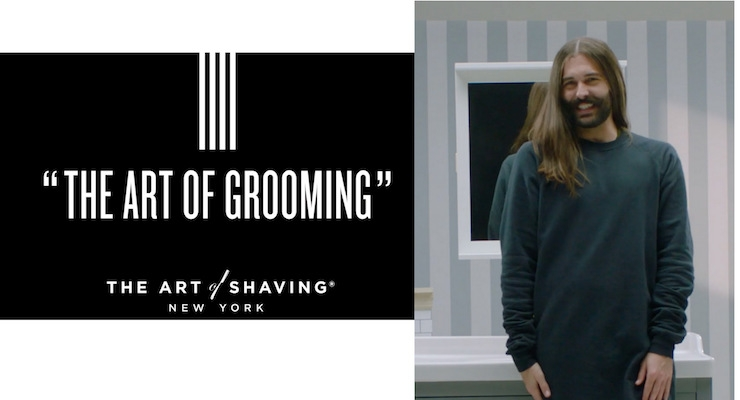 Art of Shaving Recruits Queer Eye Star for Video Campaign
