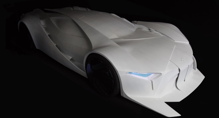 Massivit 3D Printed 1:1 Concept Car Signals the Future of Concept Prototyping
