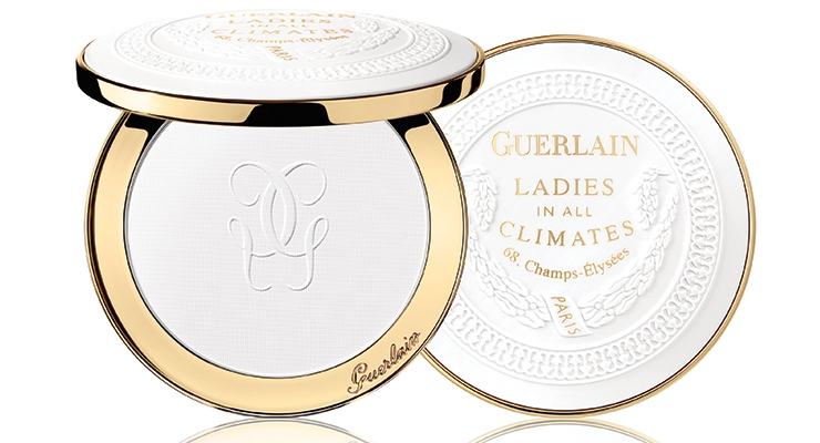 This complex compact, which marks the 190th birthday of Guerlain, consists of a dozen pieces. It was produced by TNT Global Manufacturing.