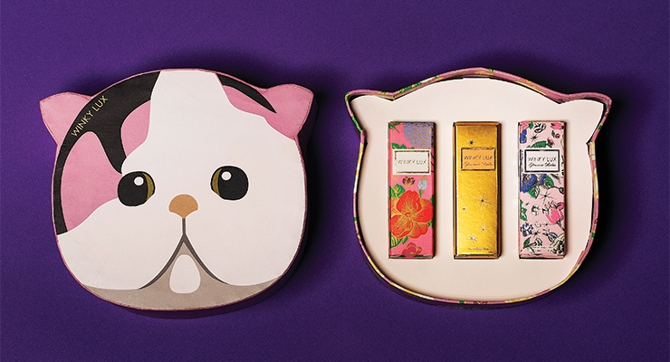 The Kitty Box, a new launch from Winky Lux, can be purchased in a few different ways.