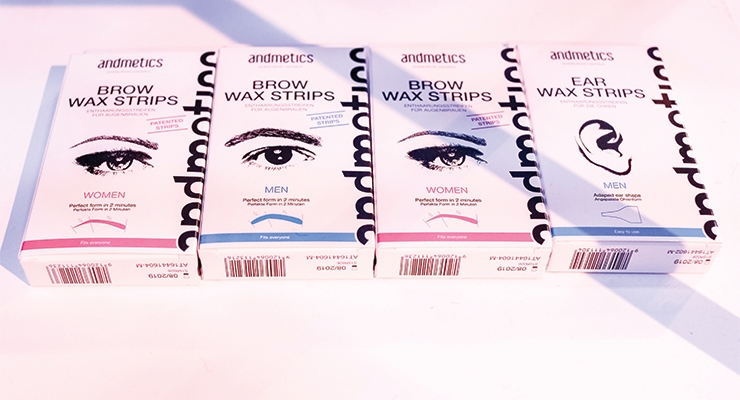 gender-bending brow line, Andmetics