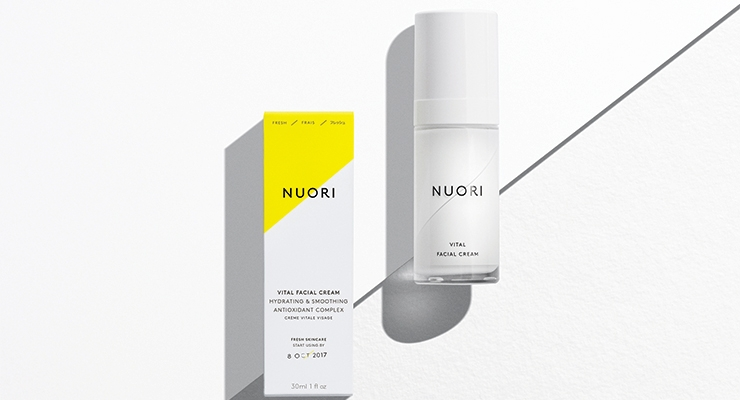 Indie brand Nuori organizes products by benefit and skin safety,  rather than by gender delineations.