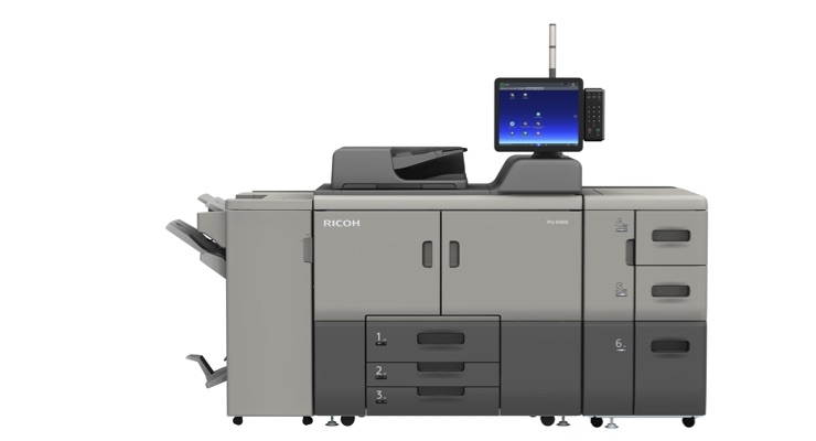Ricoh Introduces Ricoh Pro 8300 Series Presses