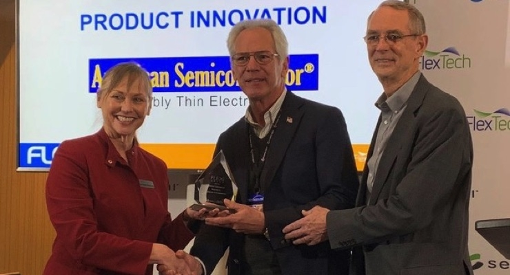 ASI Wins FLEXI Award for Best Product Innovation