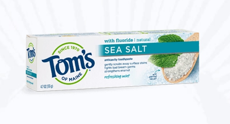 Tom's of Maine Adds Sea Salt and Activated Charcoal Products