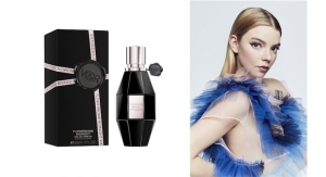 Viktor & Rolf Recruits Anya Taylor-Joy as the Face of Flowerbomb Midnight