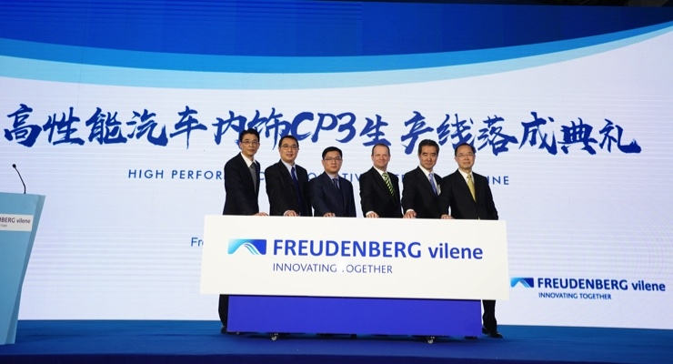 Freudenberg & Vilene Start Up Production Line in China