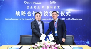 WuXi STA, Ark Biosciences Sign CMC Devt. & Mfg. Deal