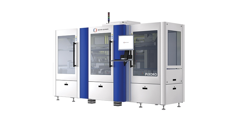 JETx-M production printer for PCB solder mask applications.  (Photo courtesy of Meyer Burger)