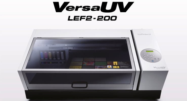 Roland DG Launches VersaUV LEF2-200 - Covering the Printing
