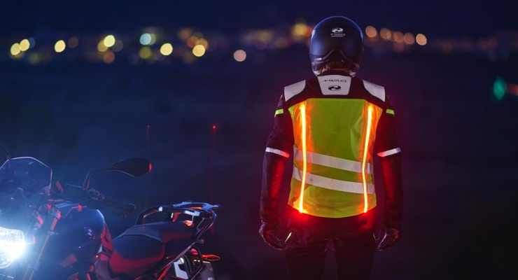 Held, Osram Develop Luminous Motorbike Clothing