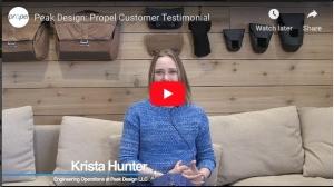 Peak Design: Propel Customer Testimonial