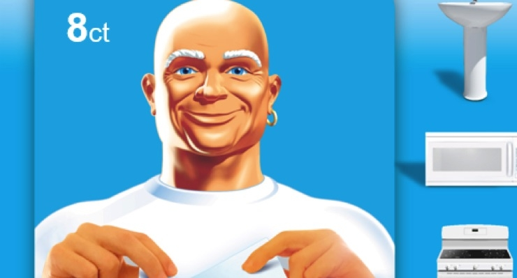 Mr. Clean Magic Debuts Eraser Sheets