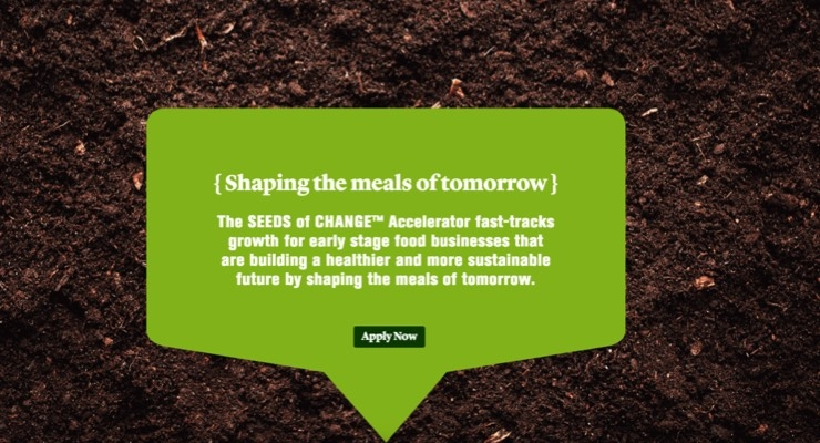 Mars Launches Purpose-Driven, Food-Focused 'Seeds of Change' Accelerator
