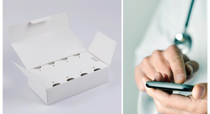 Schreiner MediPharm's Smart Vial Kit enables medication monitoring.