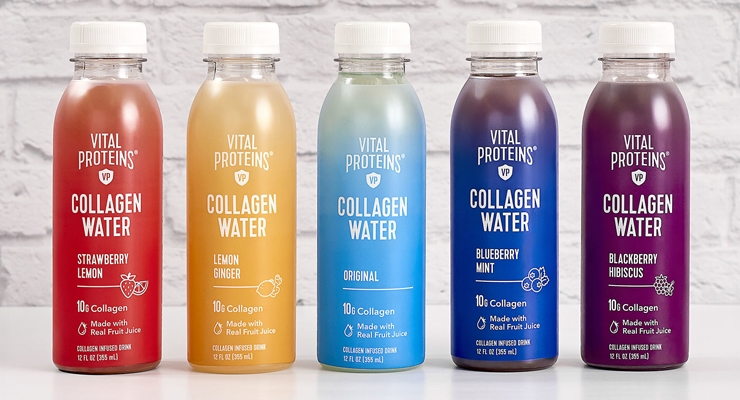 Vital Proteins Makes a Splash with Collagen Water