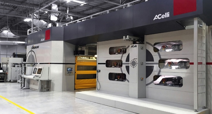 A.Celli Supplies Printing Machines in China
