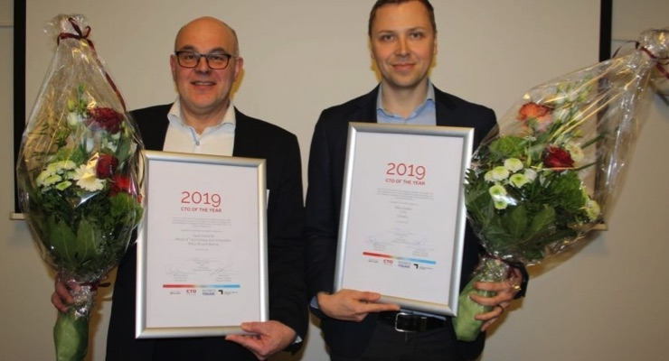 CTOs of the Year 2019: Sauli Eloranta, Rolls-Royce Marine and Ilkka Varjos, Canatu. (Source: Canatu)