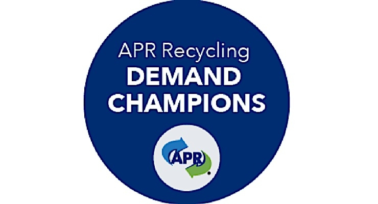 APR announces Recycling Demand Champion companies