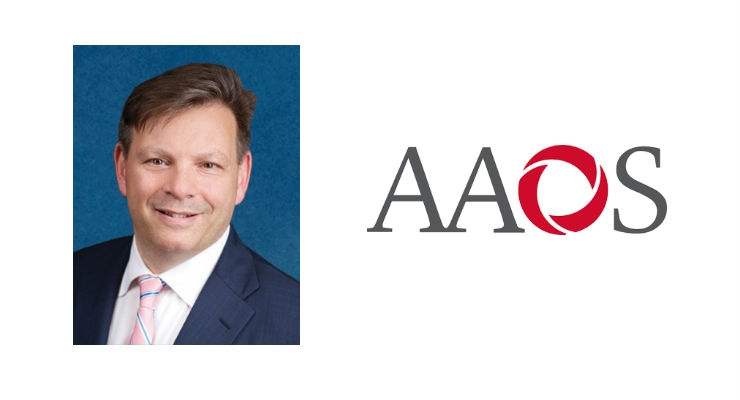 AAOS News: Joseph A. Bosco III, M.D., Named First VP of AAOS