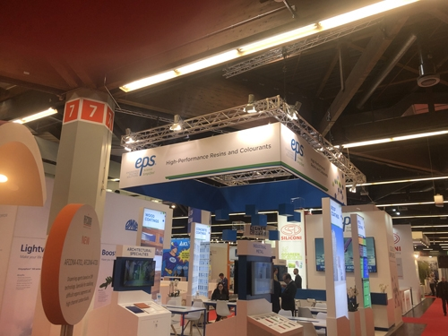 EPS Showcases New Technologies at European Coatings Show