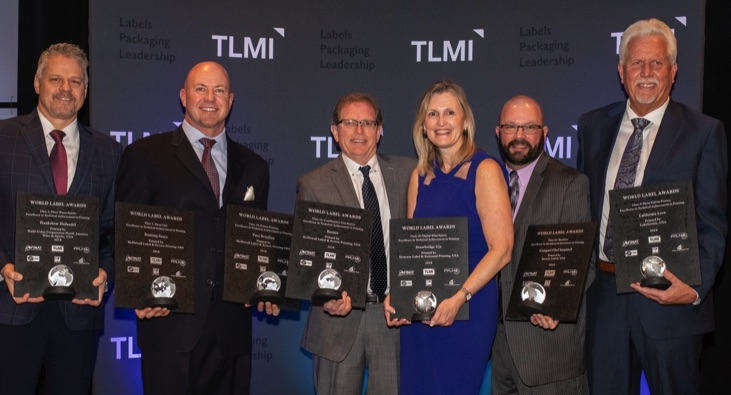 Five TLMI members win L9 World Label Awards