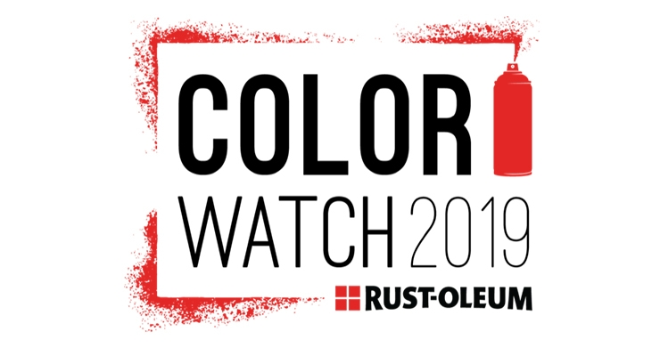 Rust-Oleum Announces Color Watch 2019