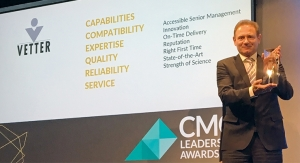 Customers' experience leads to a highly successful outcome for Vetter at the 2019 CMO Leadership Awa