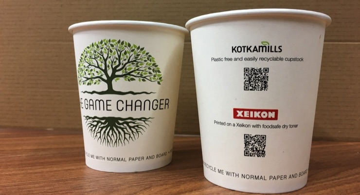 Xeikon Partners with Kotkamills