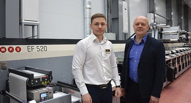 Vitaly Zhaglin, CEO of Evroflex and Dmitry Emelin, CEO of Ogard, MPS representative in Russia