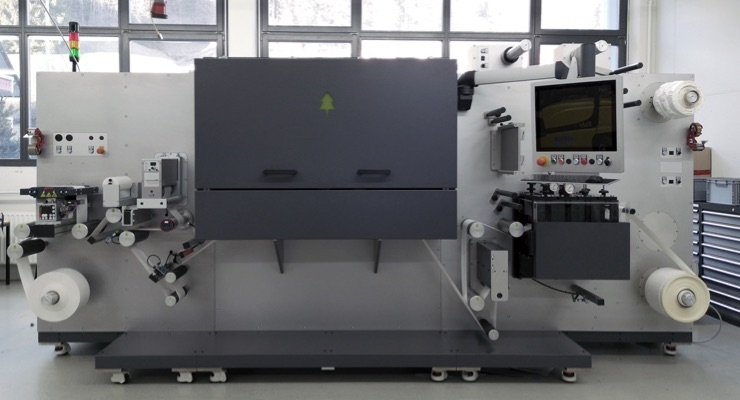 mlabel delivers first compact four-color hybrid inkjet label press