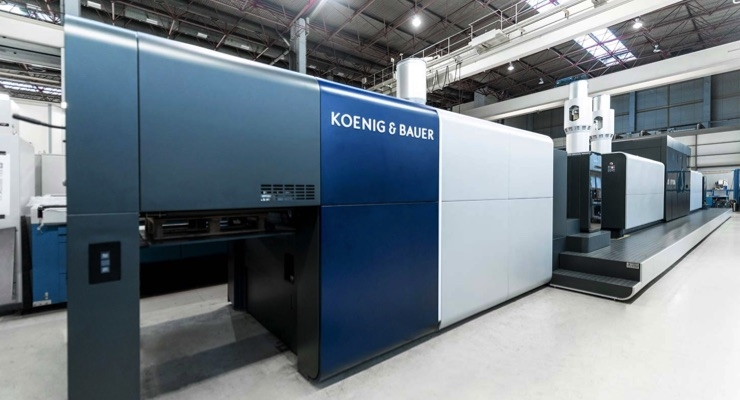 Koenig & Bauer Receives iF Design Award for VariJET 106 Digital Press